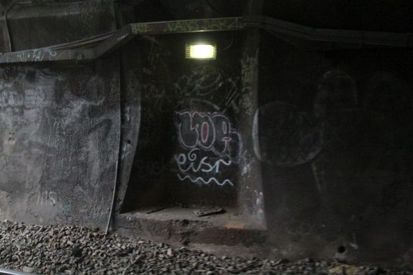 Refuge inside the West Richmond tunnel