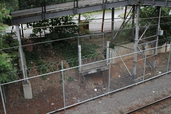 Disused goods platform now removed from the east side of Belgrave station