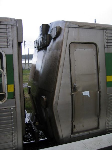 Blanked off cab of a Hitachi D carriage
