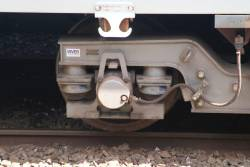 X'Trapolis bogie recently overhauled by Inver Engineering