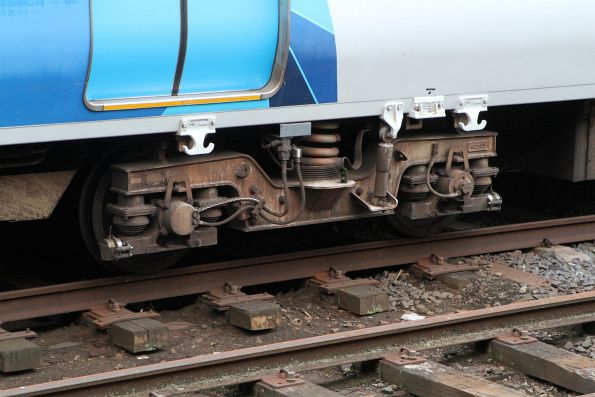 On-board diagnostics sensors fitted to the bogies of X'Trapolis 1378T
