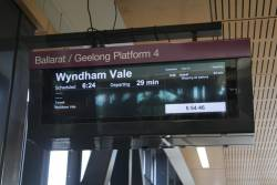 Geelong line shut down for the weekend due to trackwork, but Wyndham Vale trains are still running