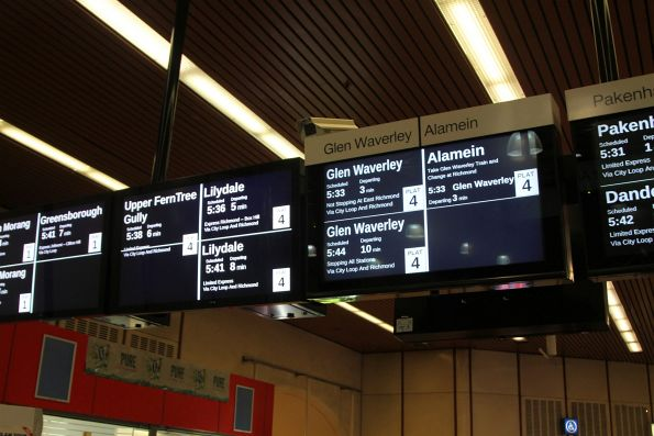 New LCD screens place worn out units at Flagstaff station