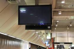 Another 'No signal' message on the PIDS at Melbourne Central