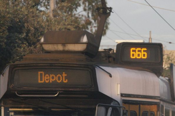Tram of the devil - route 666
