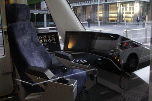 Drivers console of E.6001