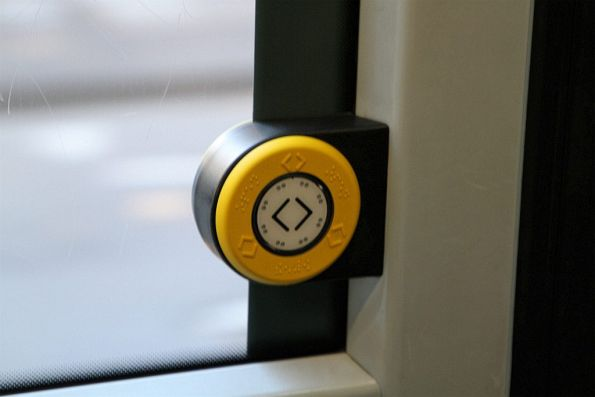 Door open pushbutton onboard tram C.3023