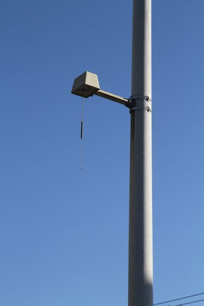 AVM antenna at the route 59 tram terminus at Airport West