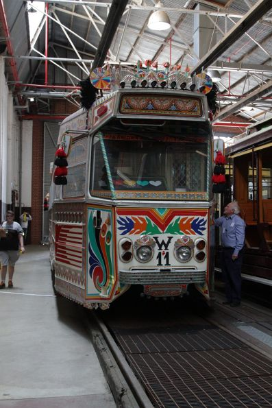 ''Karachi W11' decorated tram Z1.81