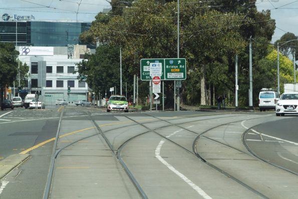 Melbourne tram sidings