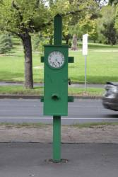Bundy clock at Domain Interchange