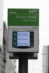 The next three route 55 trams are all 11 minutes away?