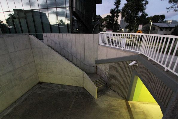 Expansion of Deakin University has seen minor changes made to the Burwood Highway pedestrian underpass