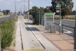 End of the line for route 86 at Bundoora