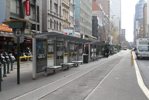Sir Robert Risson tram terminus on Elizabeth Street