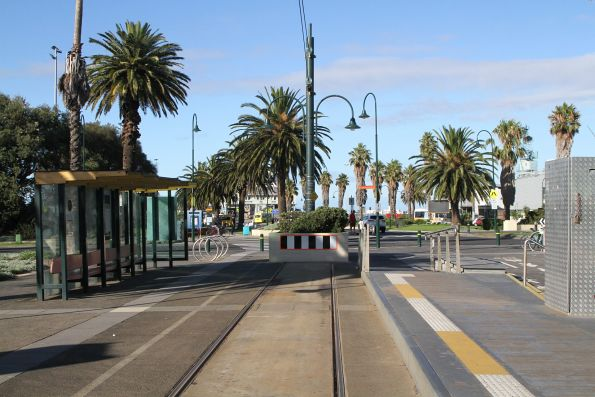 Route 109 terminus at Port Melbourne