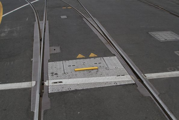 North to east curves at Spencer and Flinders Street locked out of use