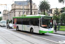 Dysons bus #361 4266AO at Spring and Collins Street
