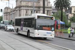Dysons bus #747 3178AO at Spring and Collins Street