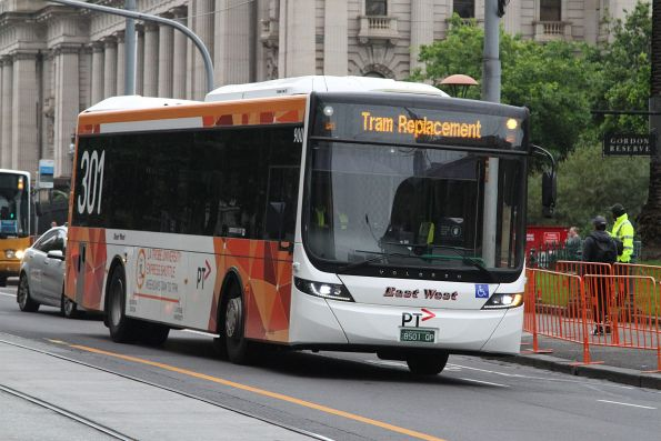 East West #900 BS01QP at Spring and Collins Street