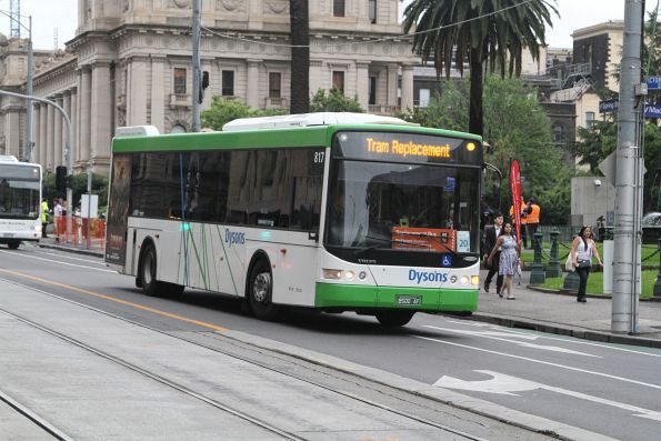 Dysons #817 BS00AF at Spring and Collins Street