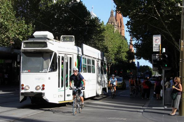 Z1.65 northbound at Swanston and Bourke Streets