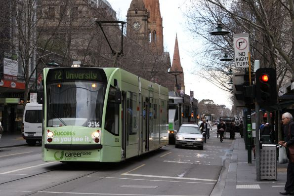 D1.3514 at the corner of Swanston and Bourke Streets