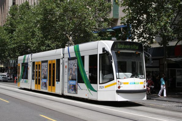 D1.3529 northbound at Swanston and Collins Streets