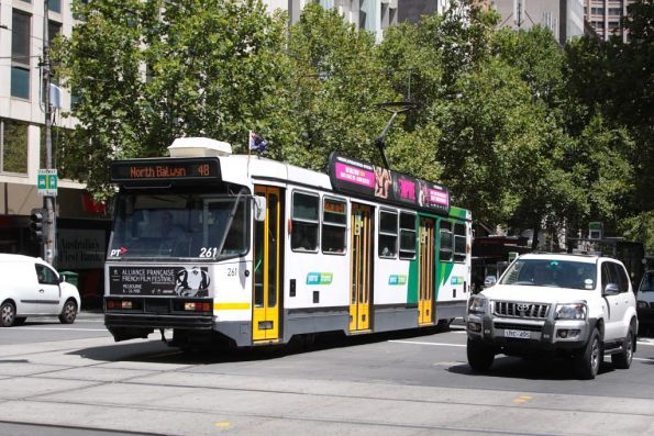 A2.261 eastbound on Collins Street at Swanston