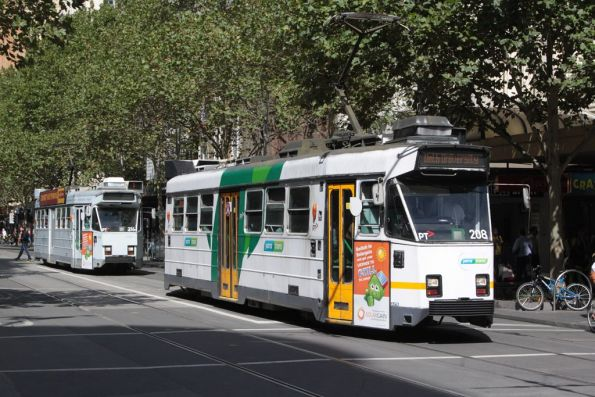 Z3.208 northbound at Swanston and Bourke Streets