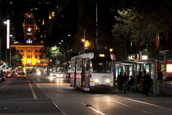 Z3.154 northbound at Elizabeth and Bourke Streets