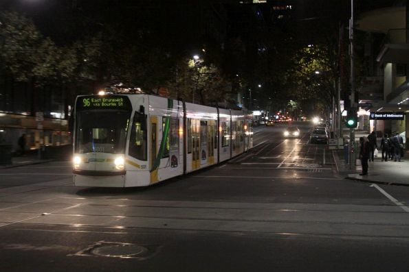 D2.5001 easthbound at Elizabeth and Bourke Streets