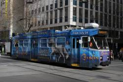 Z3.219 advertising 'Cavalia' northbound at Swanston and Collins Street