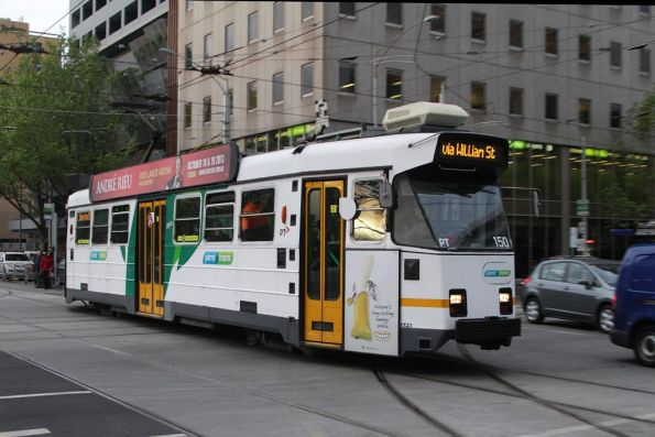 Z3.150 southbound at William and La Trobe Street