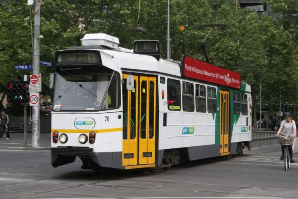 Z1.78 northbound at Swanston and La Trobe Streets
