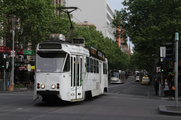 Z1.86 northbound at Swanston and Lonsdale Streets
