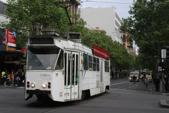 Z1.19 northbound at Swanston and Lonsdale Streets
