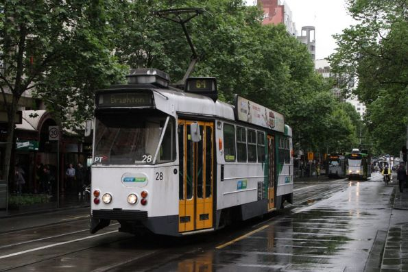 Z1.28 southbound at Swanston and Flinders Streets
