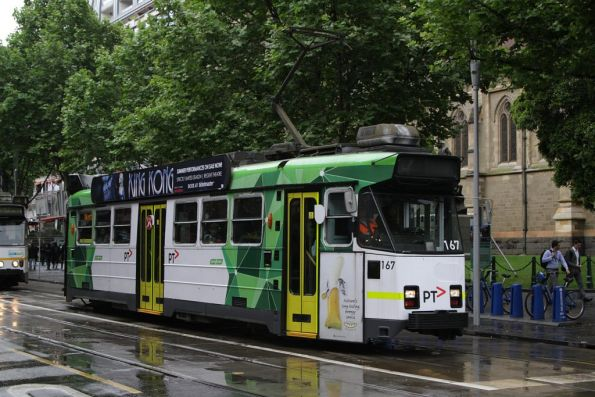 Z3.167 southbound at Swanston and Flinders Streets