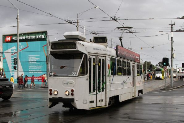 Z1.92 northbound at Swanston and Flinders Streets