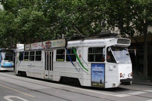 Z1.10 northbound at Swanston and Bourke Streets