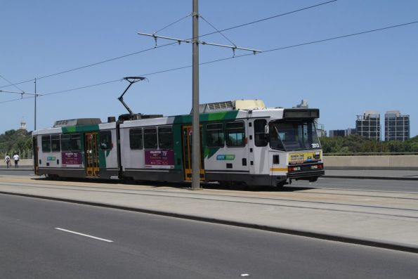 B2.2013 citybound on route 70 on the Exhibition Street Extension