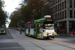 Z3.174 southbound on route 55 at William and Collins Street