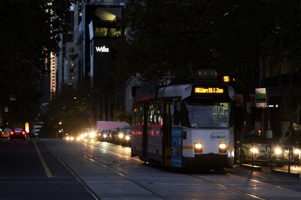 Z3.174 northbound on route 55 at William and Lonsdale Street