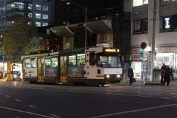 A2.299 on a route 24 service, eastbound at La Trobe and Swanston Streets