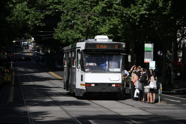 A2.299 heads west on route 12 at Collins and Queen Street