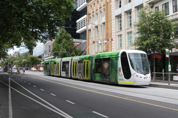 C2.5113 heads west on route 96 at Bourke and Russell Street