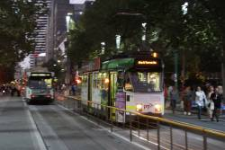 Z3.144 southbound at Swanston and Little Lonsdale Street