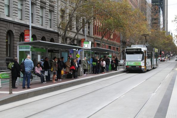 What use is a free tram zone if you can't fit on a free tram?