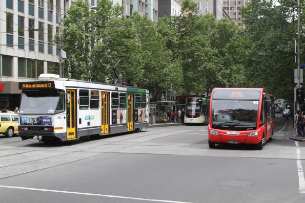A2.286 eastbound on route 12 at Collins and Swanston Street